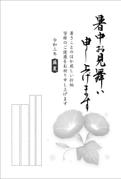 暑中見舞いはがき印刷 SNKT-001